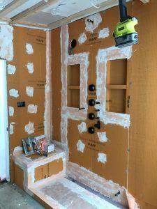 steam shower kerdi